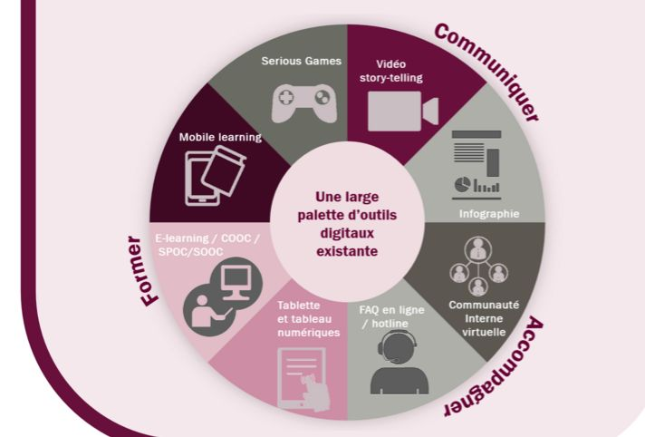 infographie communication interne  infographie transition
