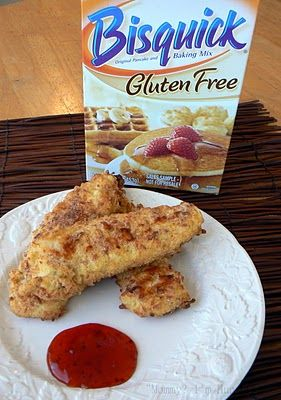 Ultimate Chicken Fingers (Gluten Free).  This site has some other really cool GF recipes too!