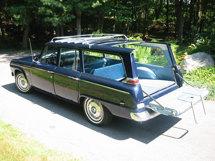 The Studebaker Wagonaire (this is a 1964 model) is quite possibly the worst-selling car of all-time. Retractable roof for big loads.