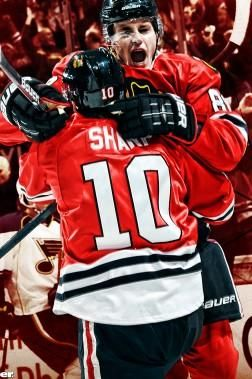 a new Kane/Sharp wallpaper now available! Chicago Blackhawks
