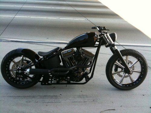 Bobber Inspiration   Harley-Davidson bobber   softailnation June 2014