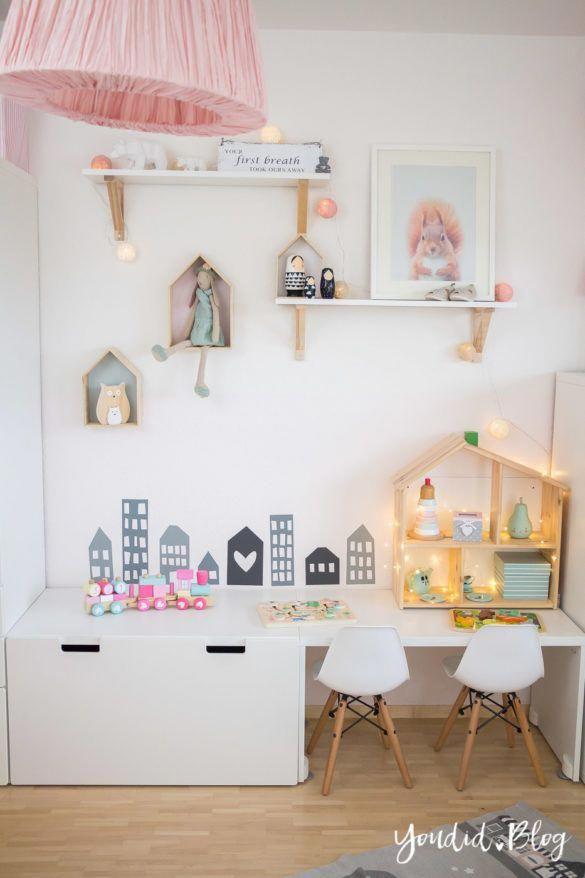 Pin de erika e en gela | Habitaciones niños ikea, Decoracion