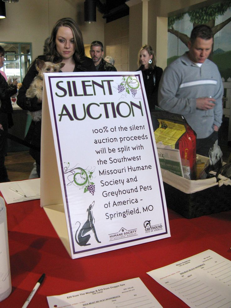 Informative signage.  Explain what their money is going for. Simple reminders work wonders... More silent auction tips: www.FundraiserHelp.com/auction/