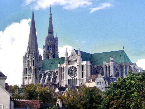 Cathédrale de Chartres. Eure et loir
