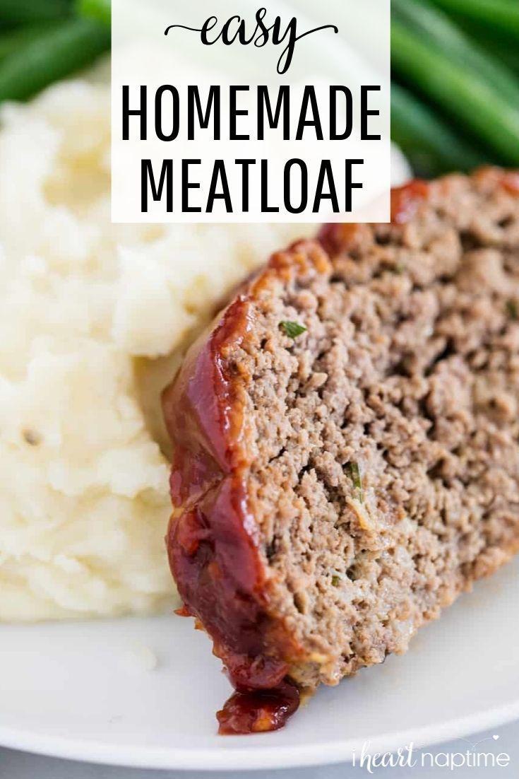 Meatloaf Homemade Meatloaf Meatloaf Easy Homemade Meatloaf