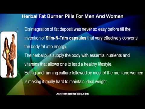 This video describes about authentic herbal fat burner pills for men and women. You can find more detail about Slim-N-Trim capsules at http://www.askhomeremedies.com