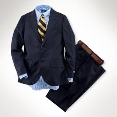 Ralph Lauren navy suit