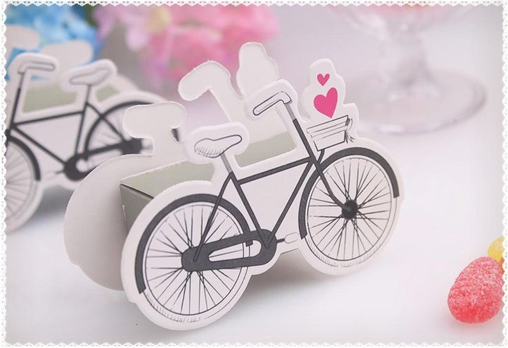 wedding candy box  Popular Sweet party favor Boxes Vintage Inspired Bicycle Favor Candy Box With Flags 50pcs/lot-in Candy Boxes from Home & Garden on Aliexpress.com | Alibaba Group