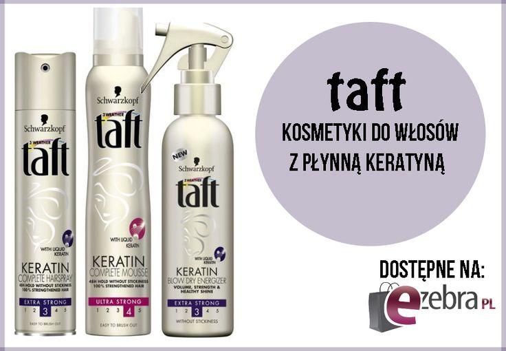 #taft #kosmetyki #włosy http://ezebra.pl