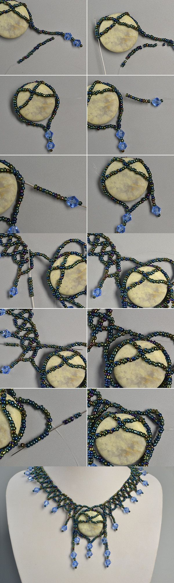 like the stone pendant necklace? LC.Pandahall.com will publish the tutorial.