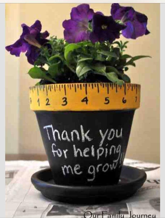 tolle Lehrer-Geschenkidee von Pinterest Mom auf FB! 26.04.14 #geschenkidee #lehr…