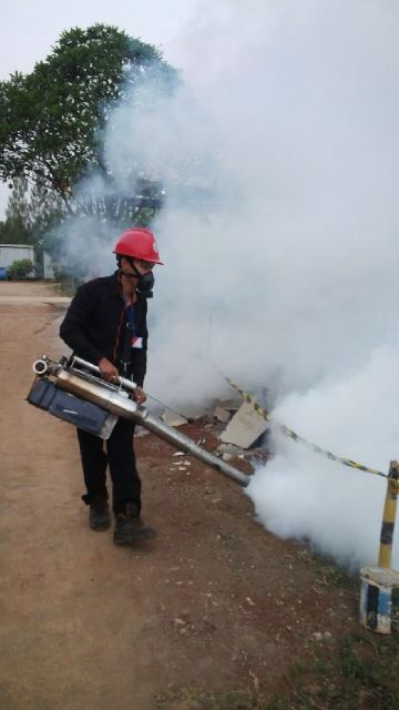 Fogging Nyamuk Gudang