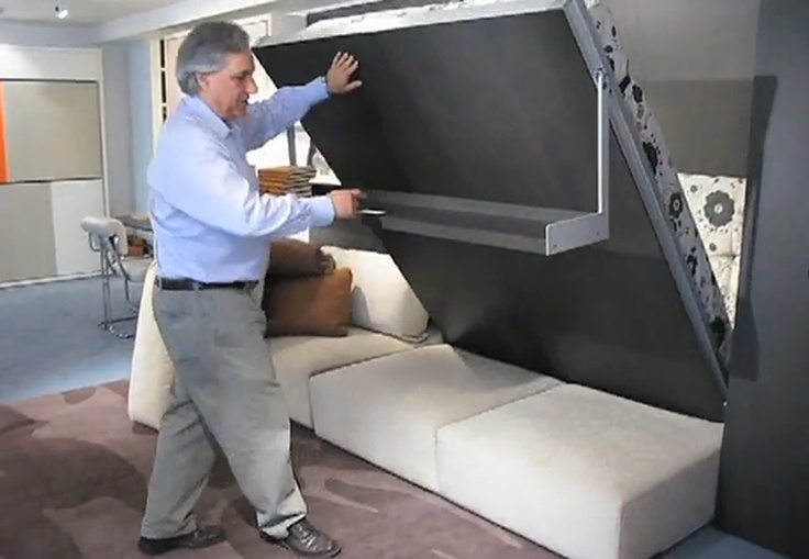 Transforming furniture, I love these!