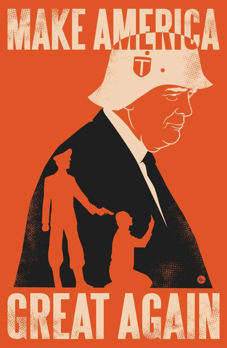 Make America Great Again Trump poster
