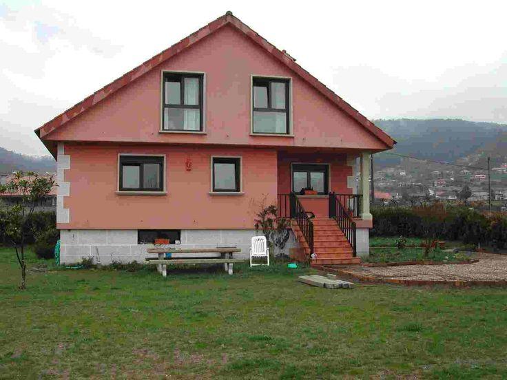 Fachada salmon pinterest - Fachadas de casas pintadas ...