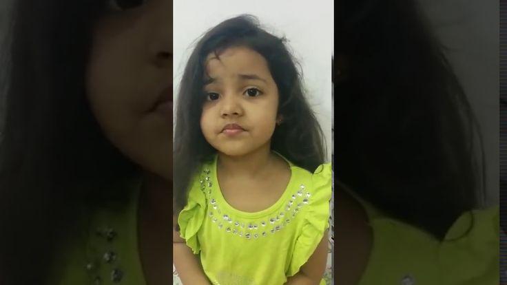 4 year old Wonder Girl Ayat says all about India!! https://youtu.be/06sJwiOki9k