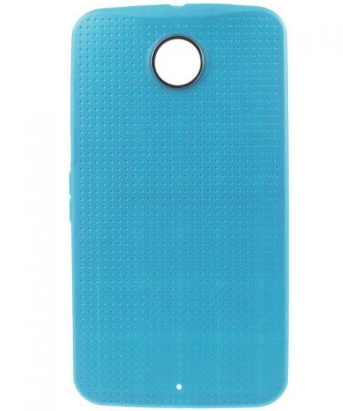 Motorola Nexus 6 TPU Case Blauw