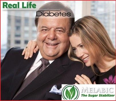 Paul Sorvino - The Goodfellas and Law & Order actor was diagnosed with type 2 diabetes in 2006. He complained of feeling tired and thirsty for months until one night Mira, his daughter got involved after you collapsed at a family dinner. Paul and his daughter went on to become spokespeople for http://www.diabetescostars.com/ He now lives a healthy life managing his Diabetes with a healthy diet, exercise and medication.