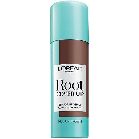 L'Oreal Paris Root Cover Up Temporary Gray Concealer Spray - 2 oz.