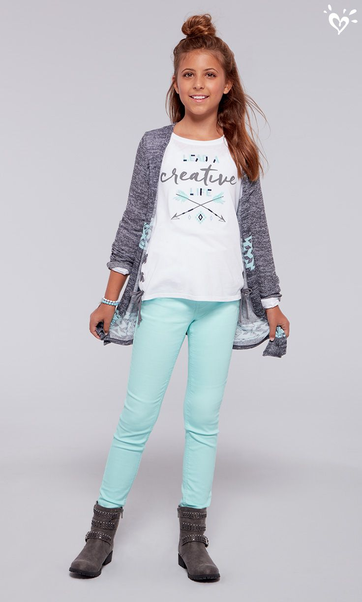 Tween fashion websites - Cover Up With A Cute Knit