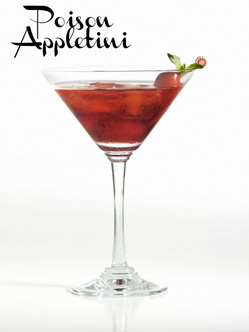 poison appletini drink recipe