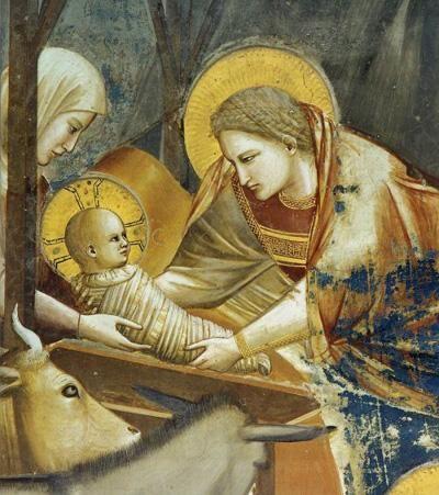 la Natività degli Scrovegni (con la Madonna con le trecce bionde)