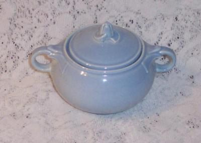 Lu Ray Blue Sugar Bowl With Lid Taylor Smith Taylor 1942 by ManyAMoonsVintage on Etsy