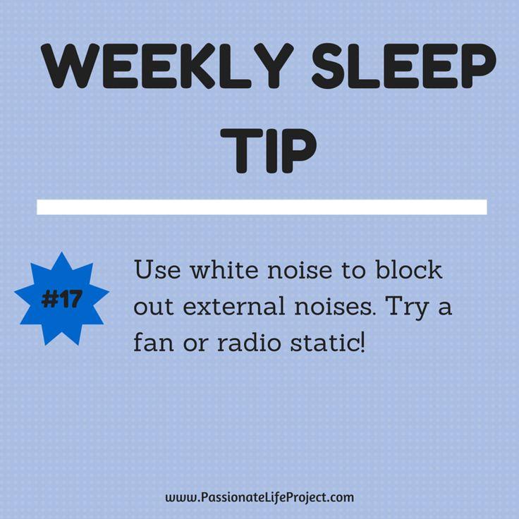 Sleep Tip #17