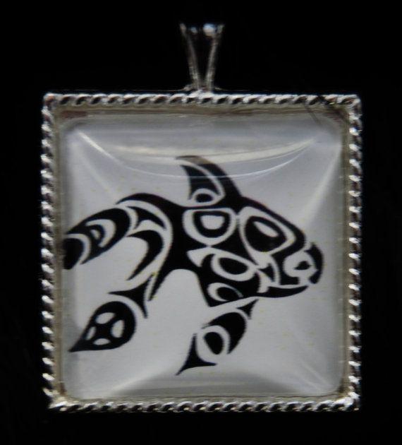 Haida Goldfish by KabloonaKreations on Etsy, $18.00