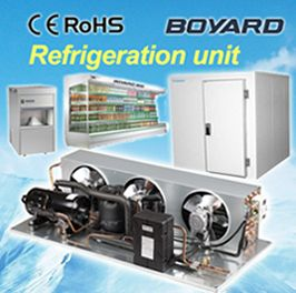 r22 r404a freezer compressor air condensing units for commercial refrigerator brands open top island freezer