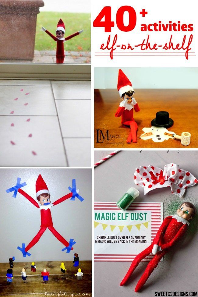 40 elf in the shelf activities that your kids will love