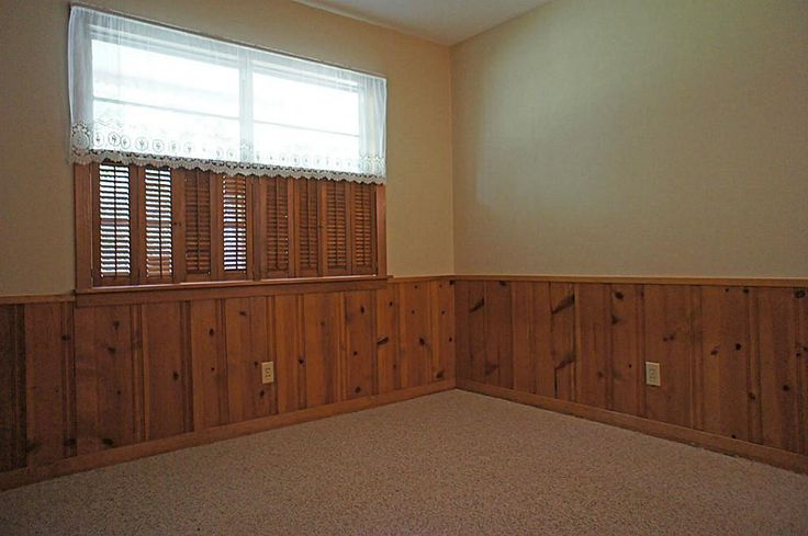 Knotty Pine Wainscoting Basement Remodel Pinterest