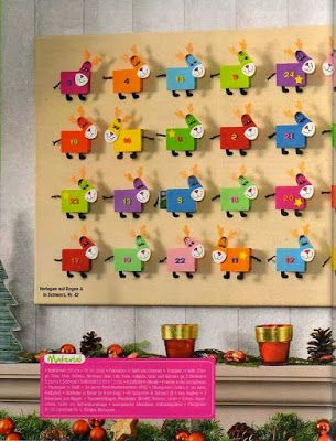 Óvodás Gyerekek: Adventi kalendárium ötletek 2.