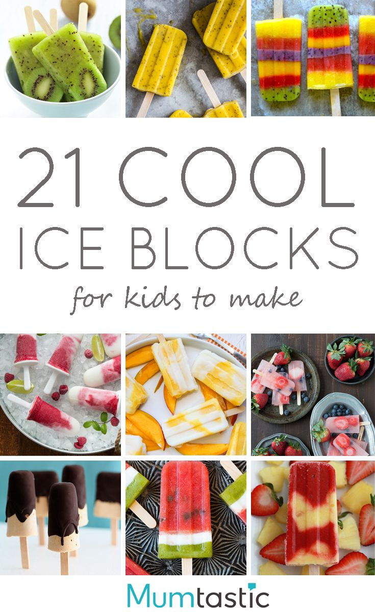 21 Cool Ice Block Recipes for Kids to Make