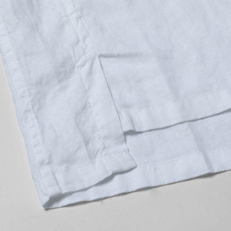 SIMWOOD 2017 лета новые случайные рубашки для мужчин дышащий 100% чистый белье Fashiom три четверти приталенный Fit одежда CS1587