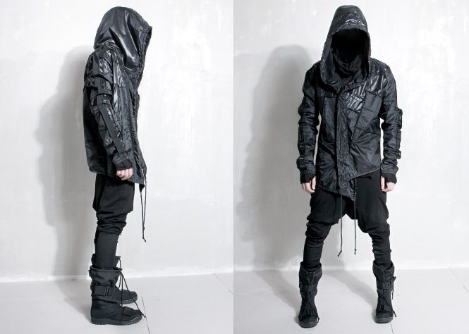 Cyberpunk Clothing Cyberpunk fashion