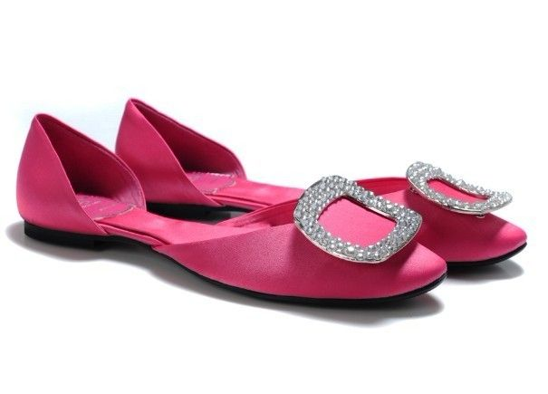 Roger Vivier Flats Pink Fashion Shoes Online http://www.rogerviviershoeshongkong.com/roger-vivier-flats.html