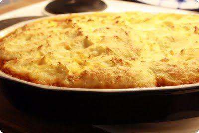 Gry´s Kjøkkenskriverier: Kjøttpai -enkel, sunn og barnevennlig. Enkel versjon av Sheperd's Pie