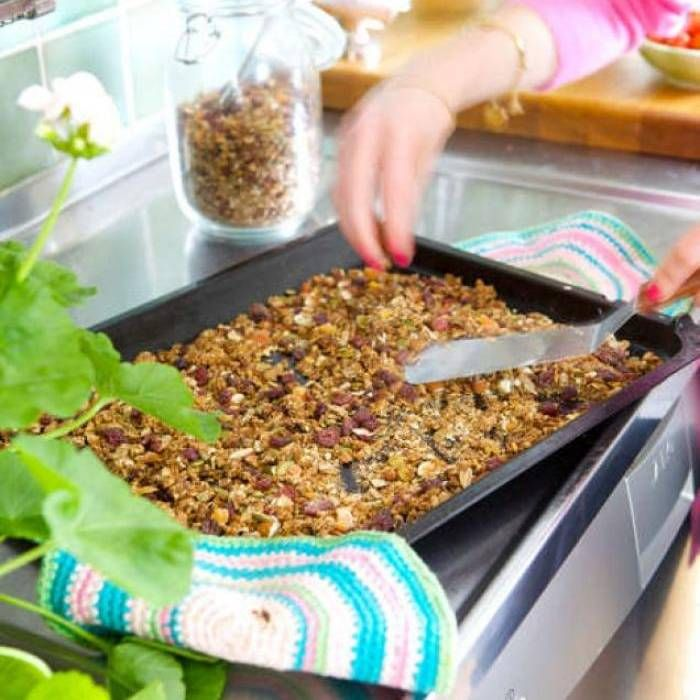 Amy och Ebba von Sydows godaste granola