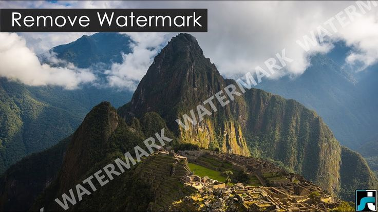 How To Remove Watermark From Photos/Images