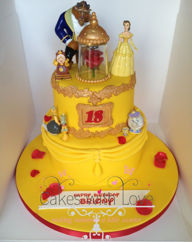 57 best Beauty the beast cake images on Pinterest The beast