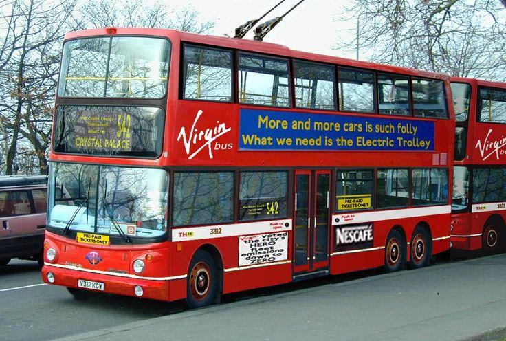 Virgin's TT Class trolleybus
