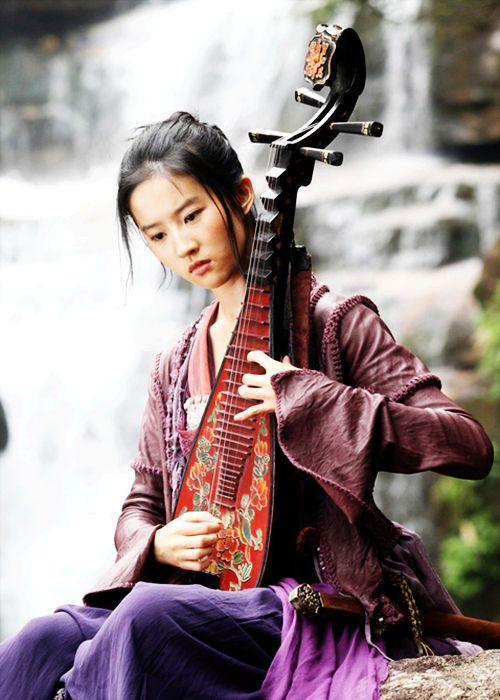 "Liu Yi Fei in 'The Forbidden Kingdom' (2008). "" """