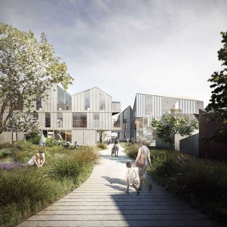 Haptic has been selected to create a housing complex in a picturesque Norwegian town, which has a growing elderly population