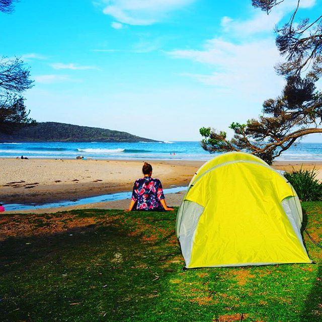 5 stars hotel ⭐️⭐️⭐️⭐️⭐️🏕 #australia #camping #beach #ocean #sky #whatelsedoyouneed #thebest #hotel #podroze #amazing #travel #is #everything #happy #girl #beautiful #view #nature #freedom
