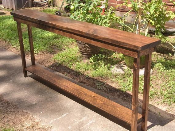 Console Table Extra Narrow Sofa
