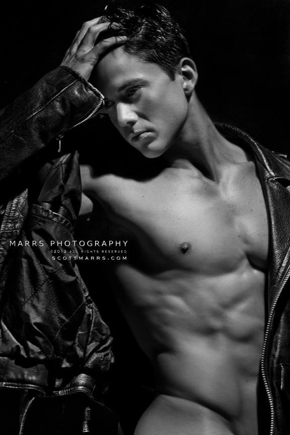 Joe Putignano | © Scott Marrs ► scottmarrsphotography.blogspot.com | #MaleModel #pecs #abs #shirtless #muscular