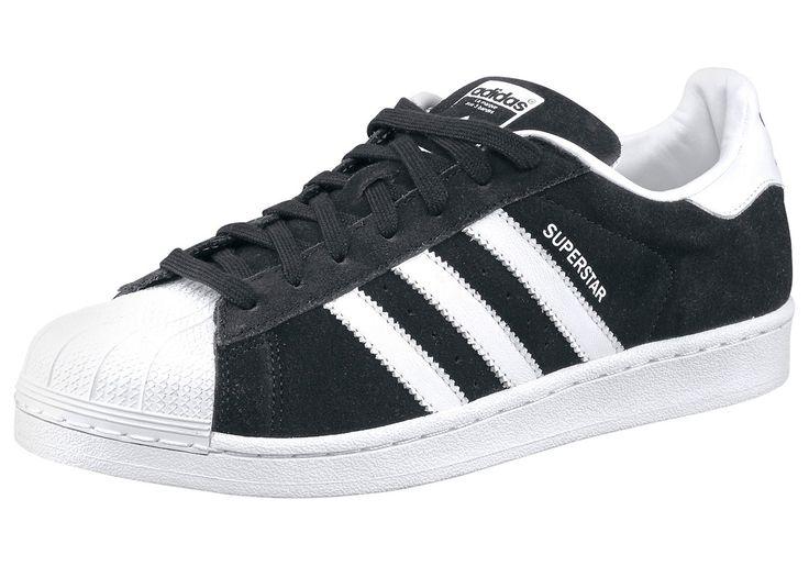 Größenhinweis , Fällt klein aus, bitte eine Größe größer bestellen., |Produkttyp , Sneaker, |Schuhhöhe , Niedrig (low), |Farbe , Schwarz-Weiß, |Herstellerfarbbezeichnung , core black, |Obermaterial , Materialmix aus Synthetik und Leder, |Verschlussart , Schnürung, |Laufsohle , Gummi, | ...