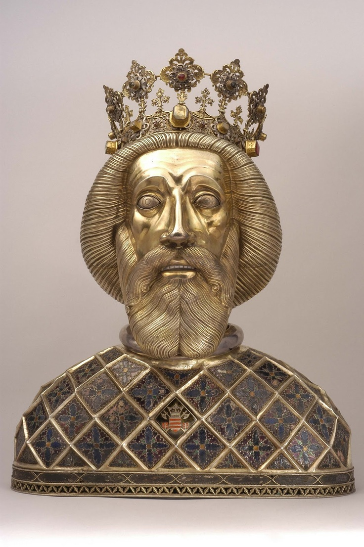 Reliquary bust of St. Ladislas from Várad cathedral  Győr, Cathedral Treasury