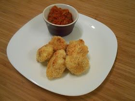Eat cook and love: Poppers de chou-fleur croustillants avec sauce marinara